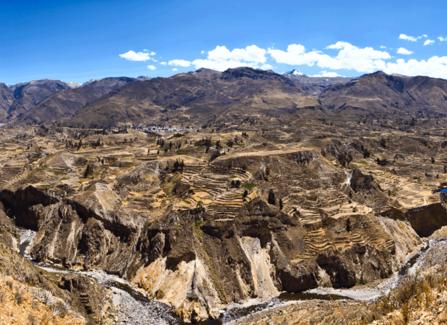 Tour 2D 1N Colca Canyon da Arequipa trasferimento a Puno