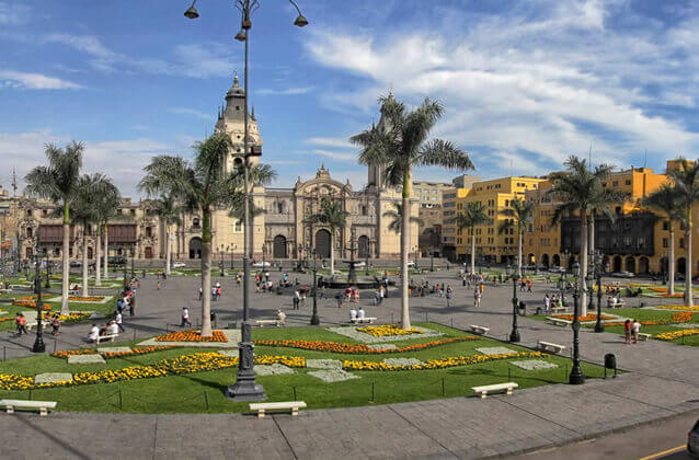 Tour della città di Lima dall'aeroporto