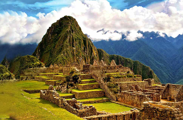 Machu Picchu ticket morning