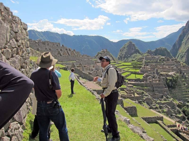 Machu Picchu Zitadelle Führung 2,5 Stunden