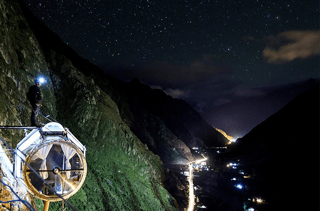 3D2N Skylodge sotto il tour delle stelle Machupicchu